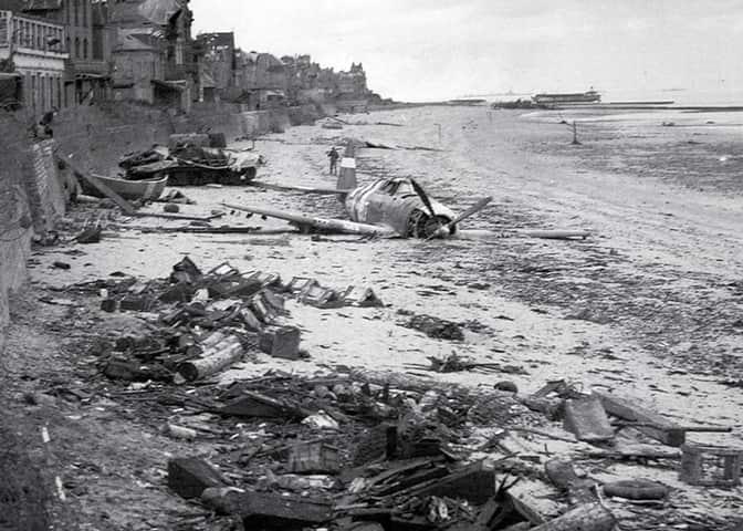 Normandie - plages du débarquement