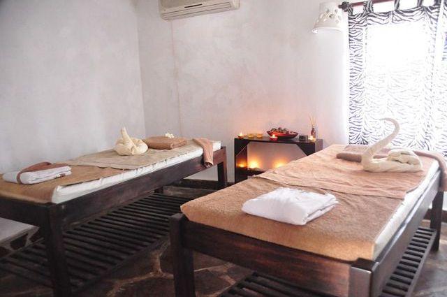 chambre d'hôtes bien-être massage - table de massage