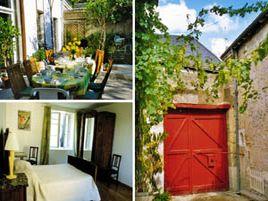 Chambres d'hôtes de charme , La Grange, amboise 37400
