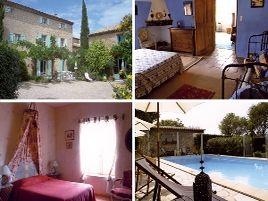 Chambres d'hôtes de charme , La Bastide de Boisset, argilliers 30210