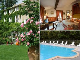 Chambres d'hôtes de charme , La Nesquière, pernes les fontaines 84210