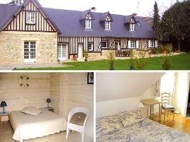 Chambres d'hôtes de charme , La Longère, bonneville sur touques 14800