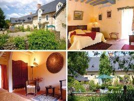 Chambres d'hôtes de charme , Manoir de Bois de Grez, grez neuville 49220