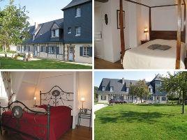 Chambres d'hôtes de charme , Manoir du Petit Saint-Pierre, honfleur 14600