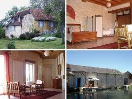 Chambres d'hôtes de charme , Moulin de Vaudres, ajat 24210