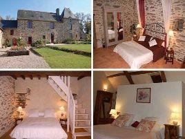 Chambres d'hôtes de charme , Manoir Le Courtillon, baulon 35580