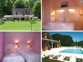 Chambres d'hôtes de charme , Le Moulin Pointu, sainte nathalene 24200