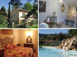 Chambres d'hôtes de charme , Moulin de Berthoire, pignans 83790