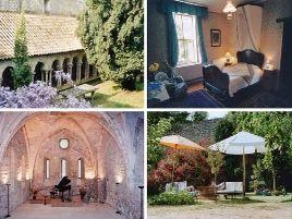 Chambres d'hôtes de charme , Abbaye de Villelongue, saint martin le vieil 11170