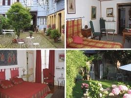 Chambres d'hôtes de charme , Au Logis d'Eawy, saint saens 76680