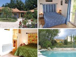 Chambres d'hôtes de charme , Les Chênes de l'Escoutay, viviers 07220