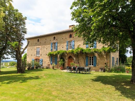 Chambres d'hôtes de charme , Au Mas des Calmettes, parisot 81310