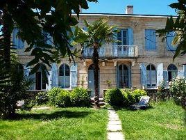 Chambres d'hôtes de charme , Les Palmiers du Port, barsac 33720