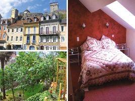 Chambres d'hôtes de charme , Au pied du château, lourdes 65100