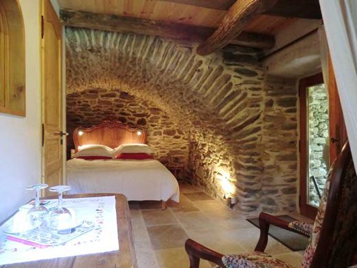 Chambres d'hôtes de charme , Transgardon, saint privat de vallongue 48240