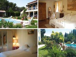 Chambres d'hôtes de charme , Villa Souleïado, chateauneuf les martigues 13220