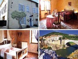 Chambres d'hôtes de charme , Le Relais de Tamaroque, portel des corbieres 11490