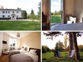 Chambres d'hôtes de charme , La Maison de Roussille, francheville 69340