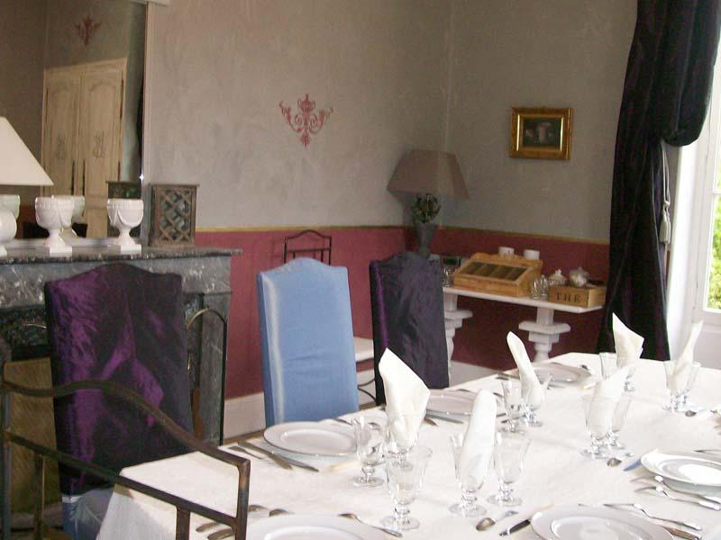 Chambres d'hôtes Enjolras bossay sur claise 37290 N° 5