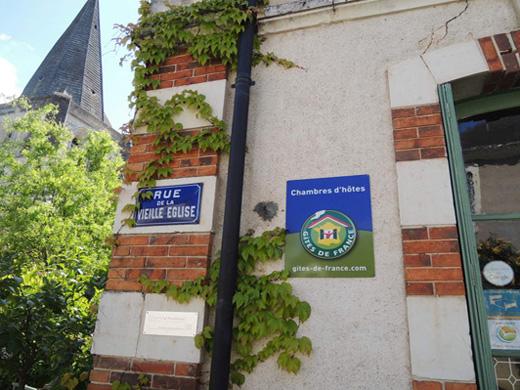 Chambres d'hôtes de charme , Les Volets Verts, ecueille 36240