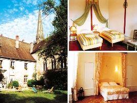 Chambres d'hôtes de charme , Maison Sainte-Barbe, autun 71400