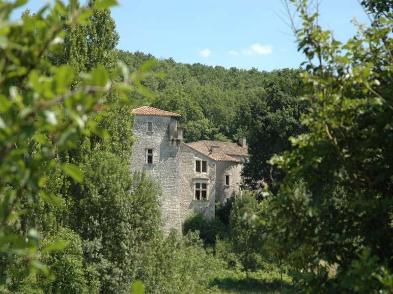 Chambres d'hôtes de charme , Château de Rodié, courbiac 47370