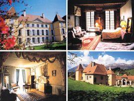 Chambres d'hôtes de charme , Château de Bardonenche, monestier de clermont 38650